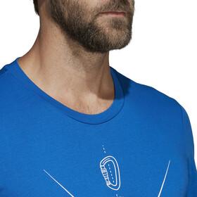 adidas outdoor t shirt blauw mountain